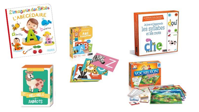 Jouez avec les syllabes et les mots