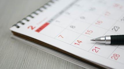 Calendrier des vacances scolaires : attention, les dates imprimées sur les calendriers et agendas papier sont fausses !