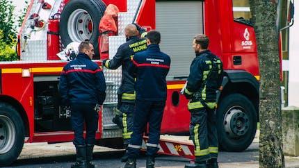 Une enfant de 4 ans coincée dans le conduit de cheminée secourue par les pompiers