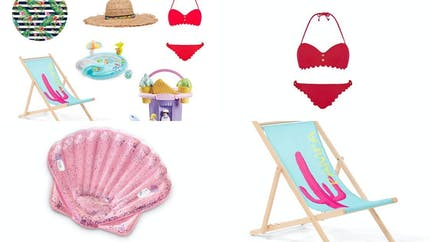 Shopping : tous à la plage !