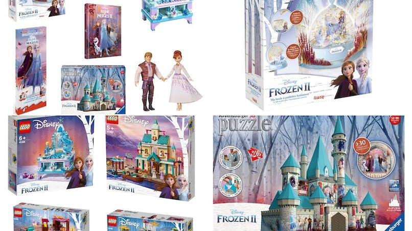 Les premiers jeux et jouets « La Reine des Neiges 2 » dévoilés !