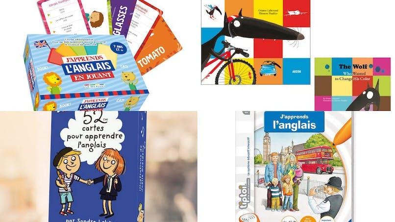 Les livres et jeux pour apprendre l'anglais en s'amusant !
