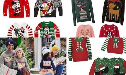 Les plus beaux pulls de Noël 2019 pour toute la famille !
