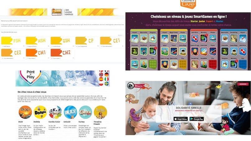 Confinement : 11 ressources en ligne ou sur mobile pour occuper les enfants !