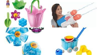 Enfin à la plage, les indispensables pour bébé et les enfants !