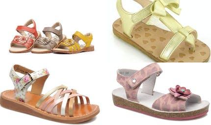 Chaussures enfants : le top des sandales pour petite fille