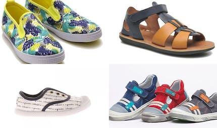Le top des chaussures d'été pour garçon
