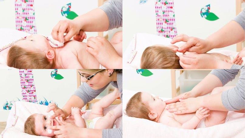 Les soins de la peau de bébé