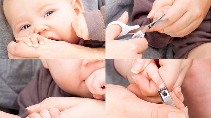 Couper les ongles de son bébé