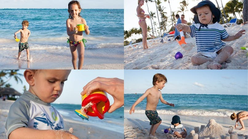 A la plage, vos enfants vont vous étonner