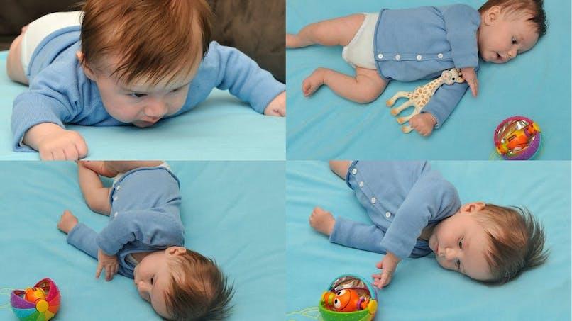Le roulé-boulé : une étape importante pour les  bébés