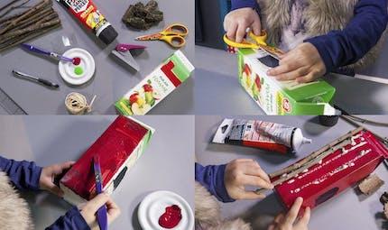 Les mini ateliers de Tiji : la mangeoire à oiseaux