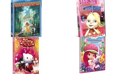 Les meilleurs dessins animés jeunesse en DVD ou   Blu-ray