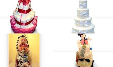 Les gâteaux de couches