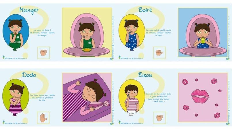 La langue des signes avec Bébé