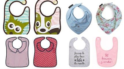 Les bavoirs pour bébés