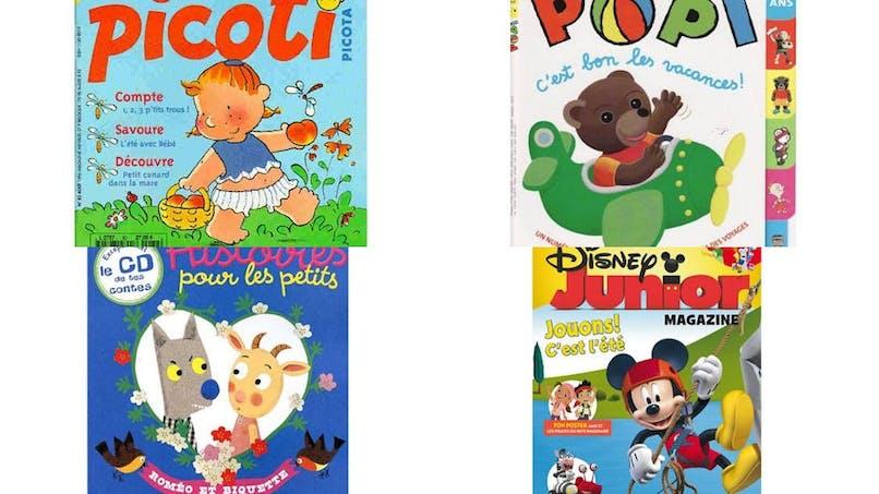 Top 23 des magazines pour enfants