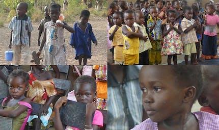 Burkina : portraits d'enfants