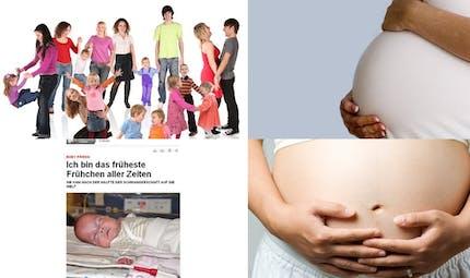 Les records du monde de la maternité
