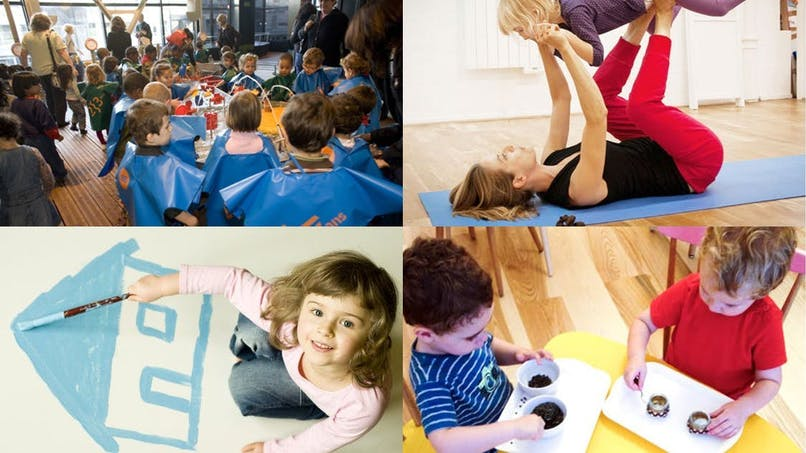 Ateliers de loisirs pour les tout-petits