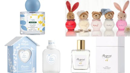 Les parfums pour bébé
