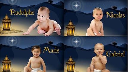 """Les prénoms """"spécial Noël"""""""