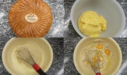 Recette de galette des Rois au caramel (diaporama)