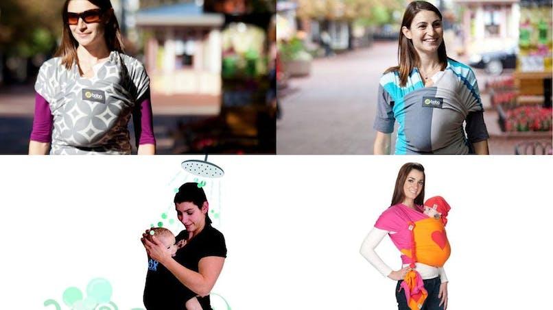 Echarpe de portage, les nouveautés 2013