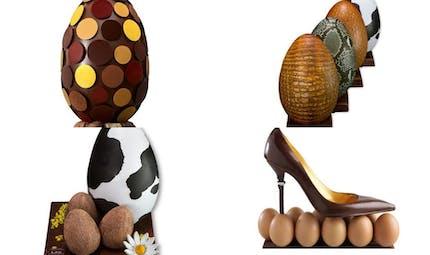Chocolat de Pâques : les créations d'exception   2013