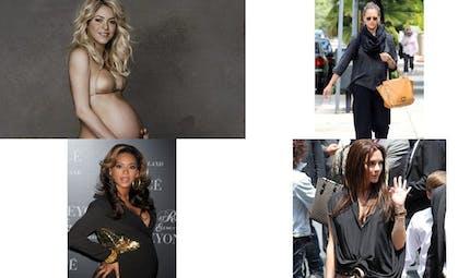 Les people et la grossesse