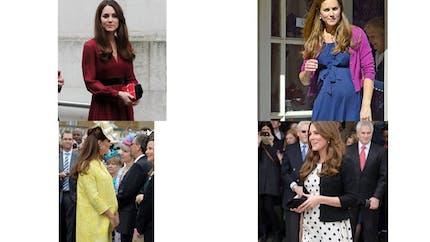 Kate Middleton : ses plus beaux looks de grossesse
