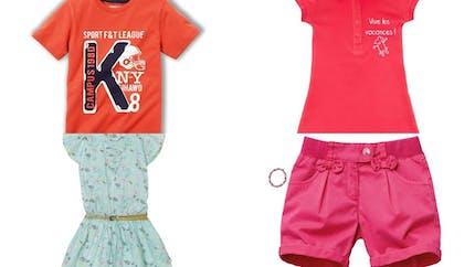 Mode enfant : les tenues de la saison printemps/été   2013