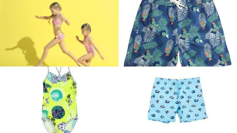 Les nouveautés maillots de bain pour enfants