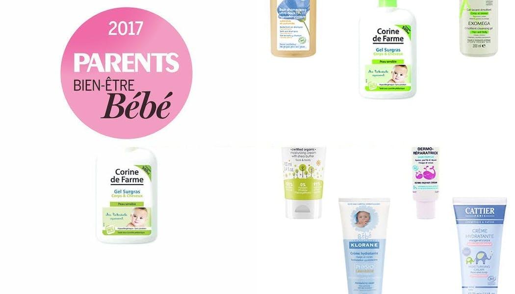 Prix PARENTS Bien-être Bébé 2017, le palmarès