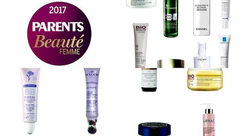 Prix PARENTS Beauté femme 2017, le palmarès