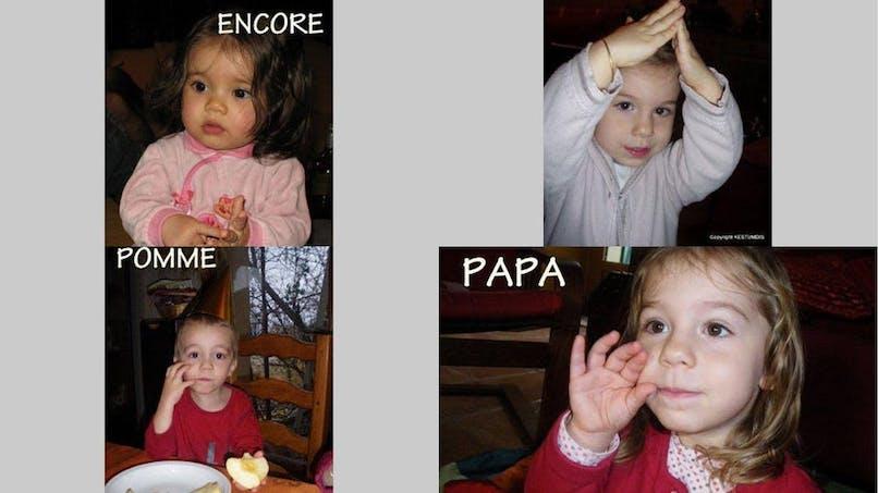 Langue des signes : des mamans et professionnelles de la   petite enfance témoignent