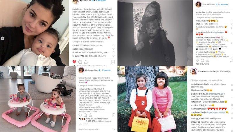 Kylie Jenner, Tina Kunakey, Kanye West... le diapo des people en famille