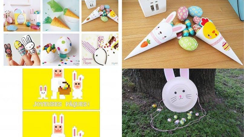 Pâques : 10 DIY sympas à faire avec les enfants  (diaporama)