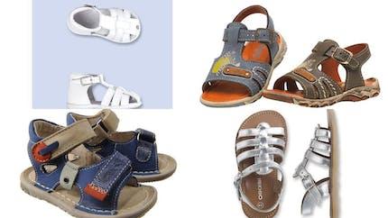 Des sandales spéciales petits petons