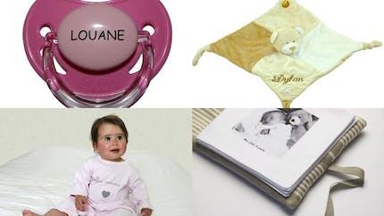 Cadeaux de naissance personnalisés