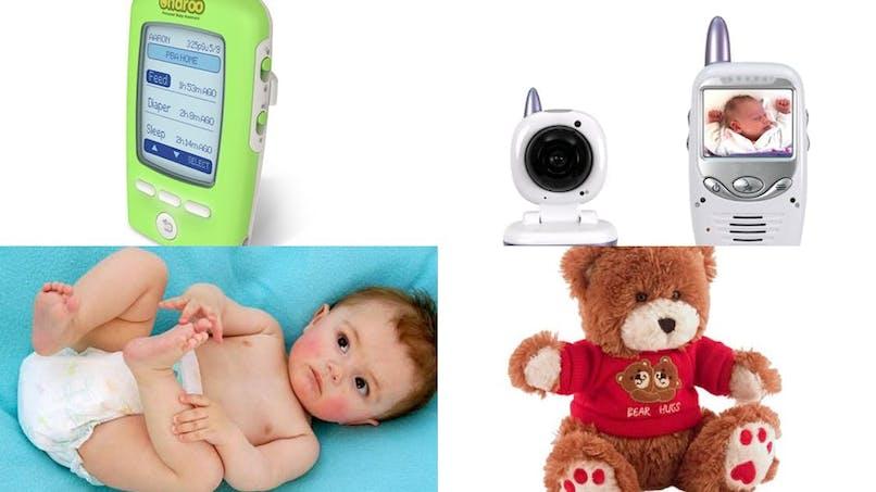 Gadgets et matériel high-tech pour Maman et Bébé