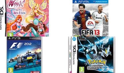 Noël 2012 : les jeux vidéo pour les enfants