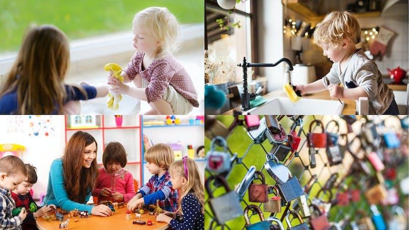 Enfants : 10 activités Montessori à faire à la maison