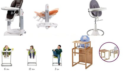 Mobilier bébé évolutif pour le salon et la cuisine