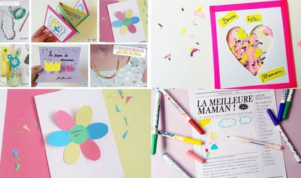 Fête des mères : 10 idées de cadeaux que les enfants vont fabriquer pour nous