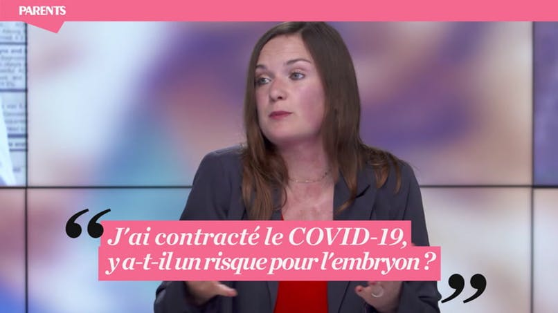 """Live Parents """"Grossesse et Coronavirus"""" : « J'ai contracté le Covid, y a-t-il un risque pour l'embryon ? »"""