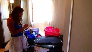 Angélique Marquise des Langes : Le départ en vacances
