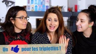 Angélique Marquise des Langes : les triplettes