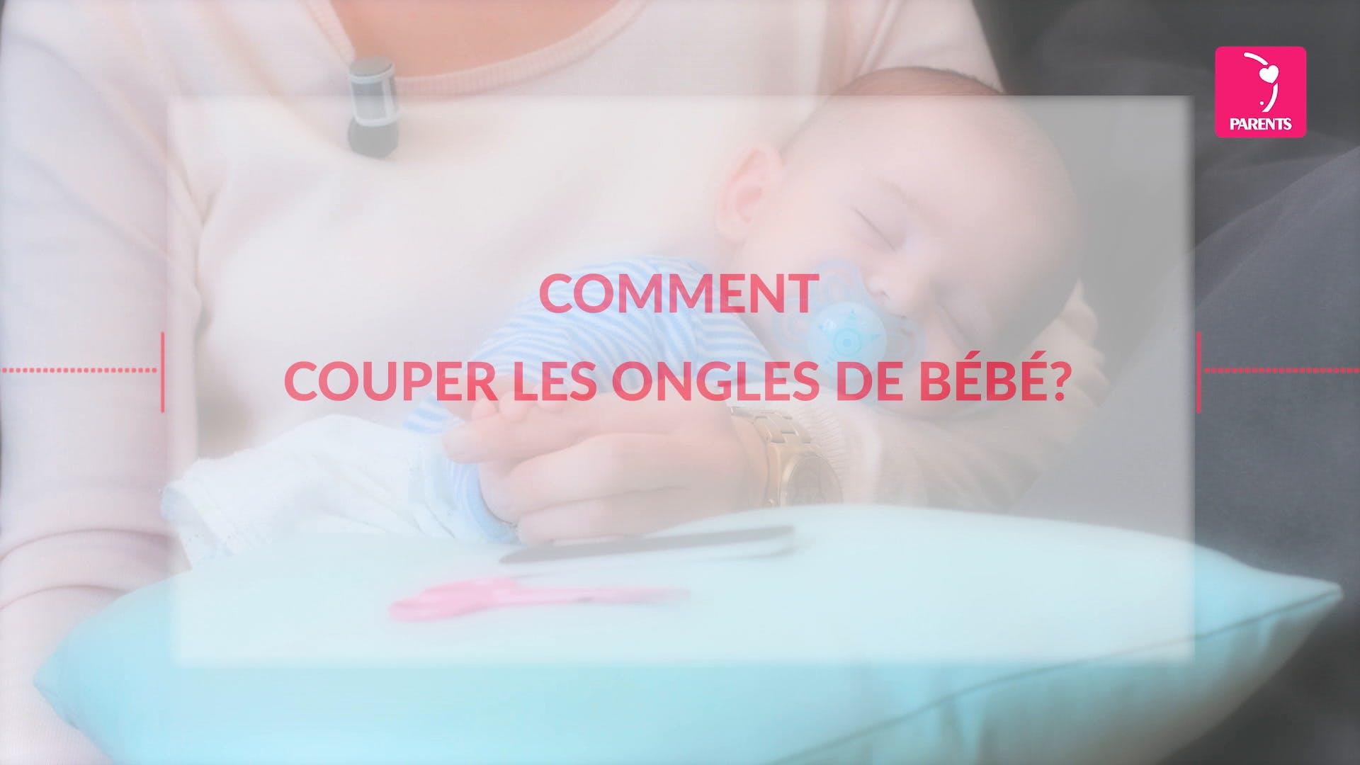 Comment Couper Les Ongles De Bébé
