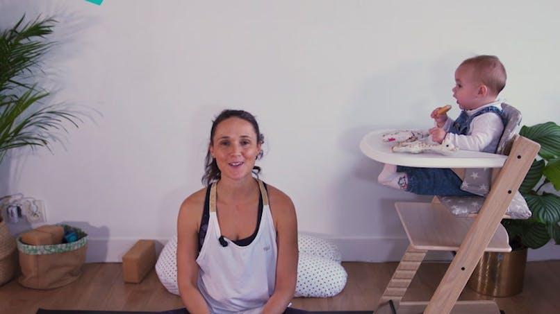 Ma routine Yoga PostNatal pour prendre soin de son dos